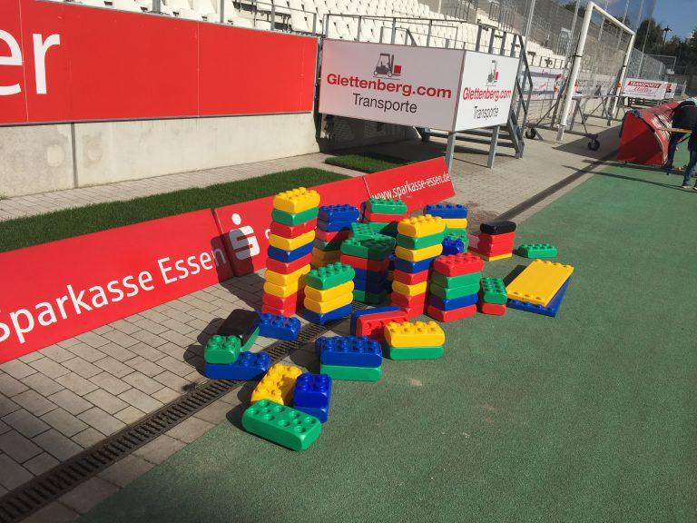 Riesen Legosteine