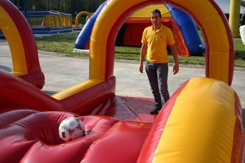 Fussball Minigolfanlage