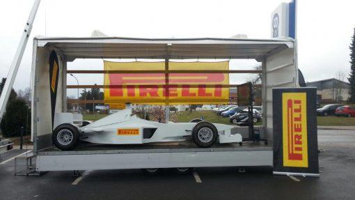 F1 Simulator Hänger