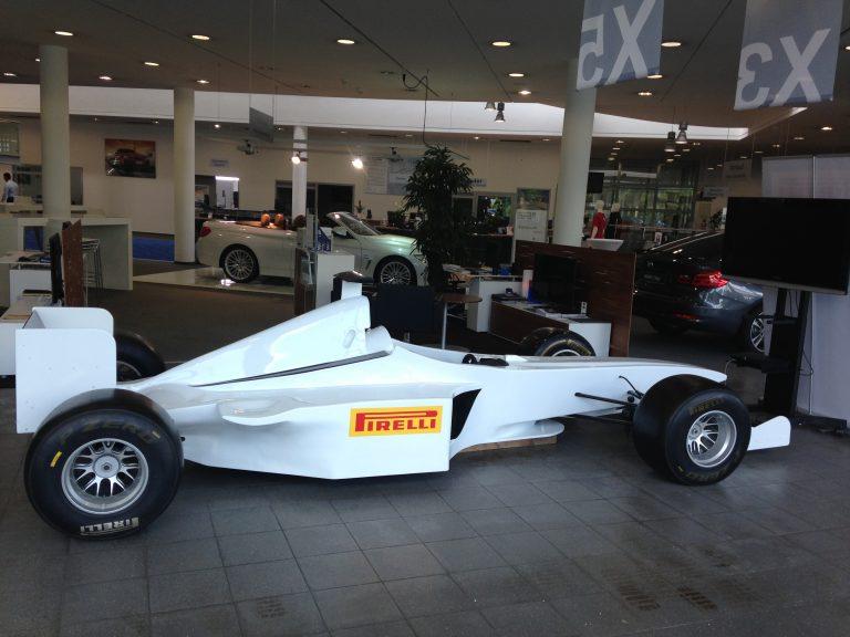 Formel 1 Simuator Branding