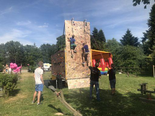 Mobile Kletterwand