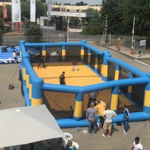 Volleyball Feld Aufblasbar