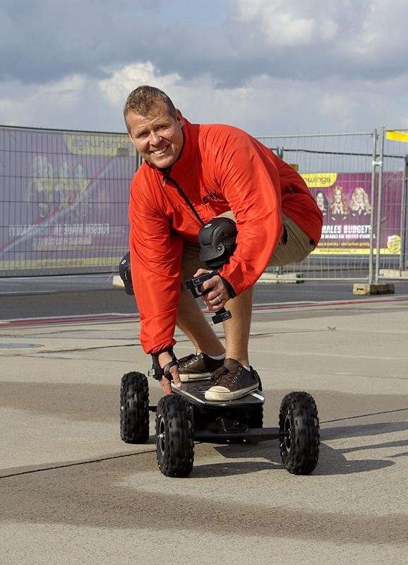 E-Skateboards Parcours