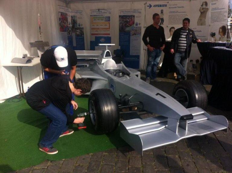 F1 Boxenstopp