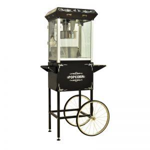 Popcornmaschine Schwarz