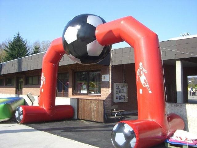 Torbogen Fussball