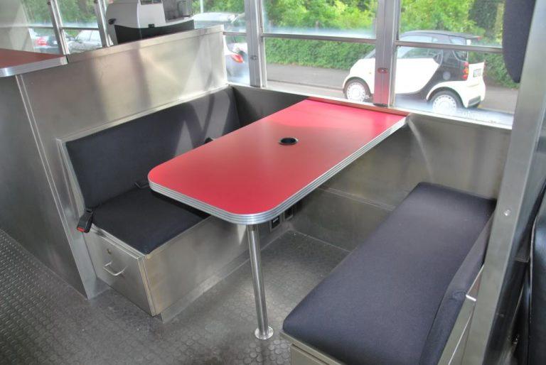 US Schulbus Sitzbank