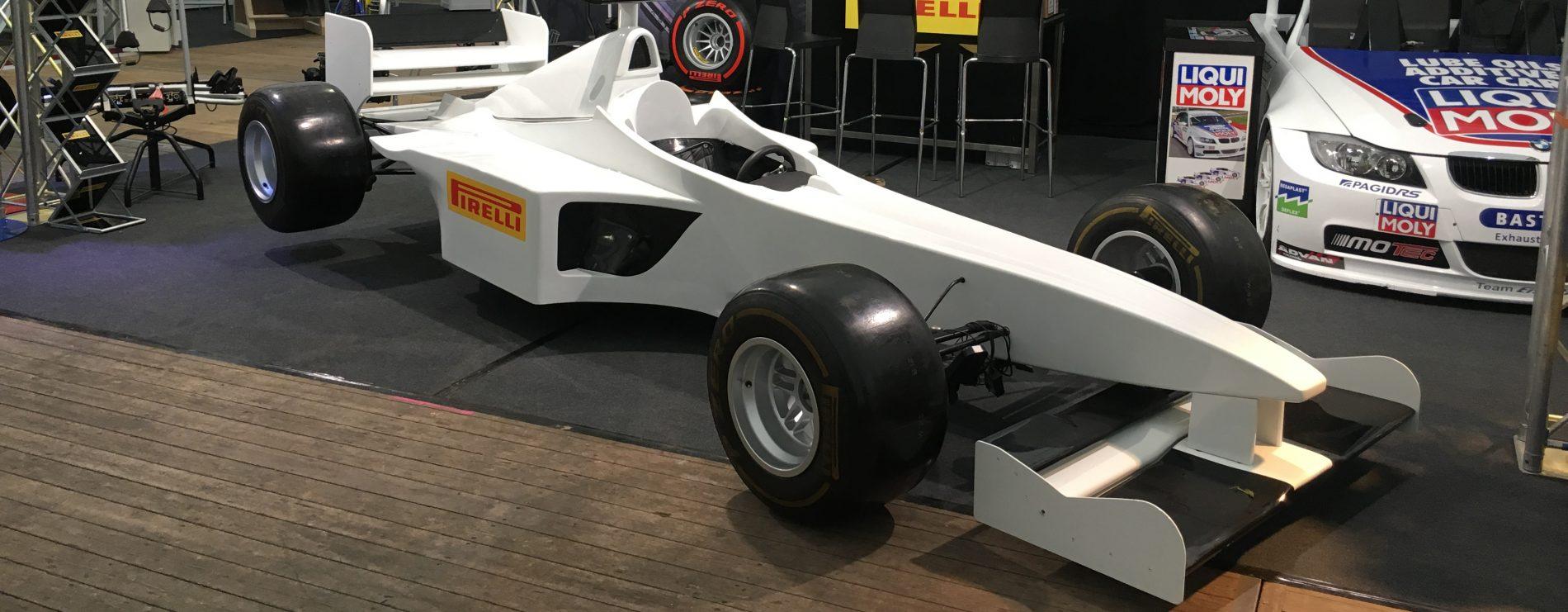F1 Boxenstopp Simulation