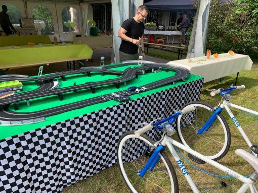 Fahrrad Slotcarbahn