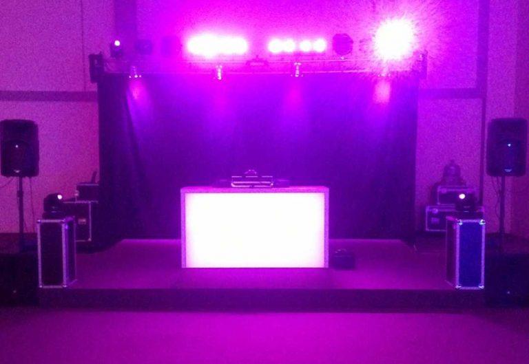 LED DJ Pult