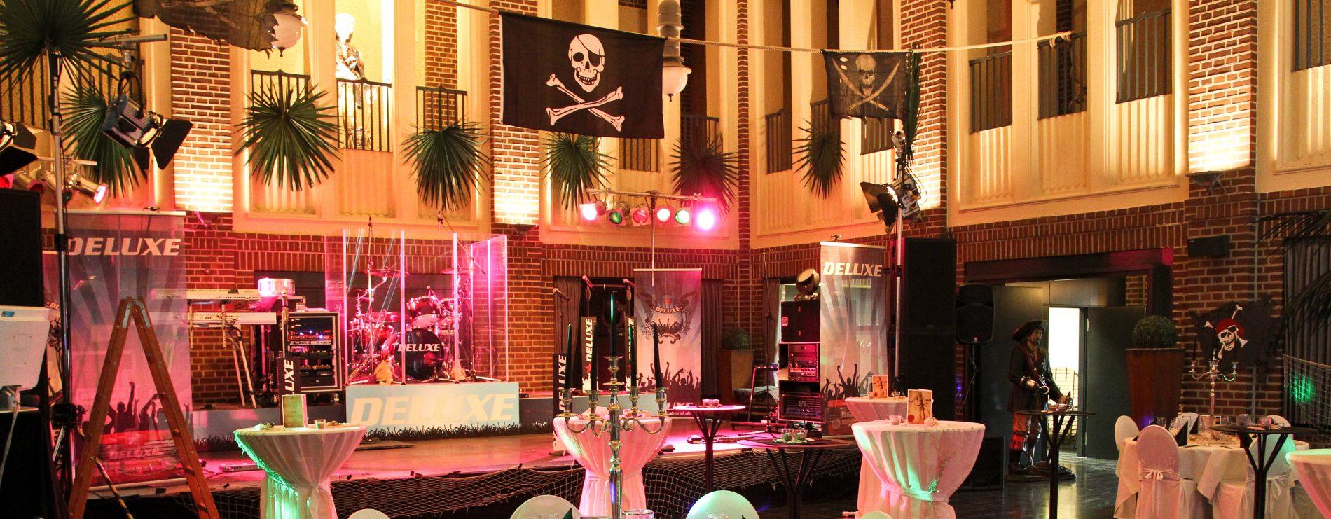 Piraten Event Deko