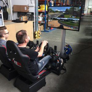 Racingseat Doppel