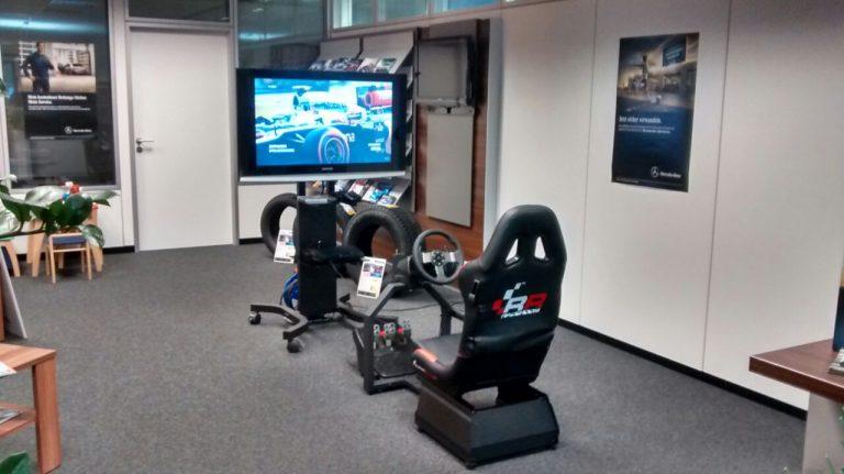 Rennsitz Simulator