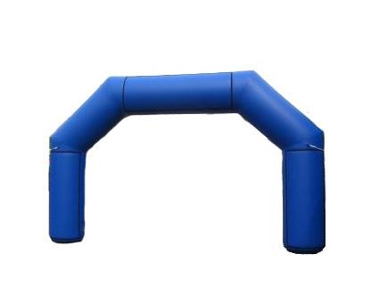 Torbogen Blau