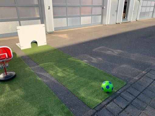 Fussball Minigolf Bahn