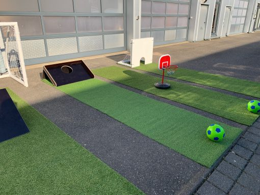 Fussball Minigolfbahn