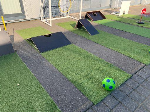 Fussballminigolf