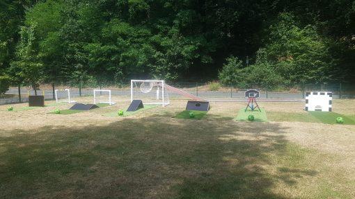 Fußball Minigolf