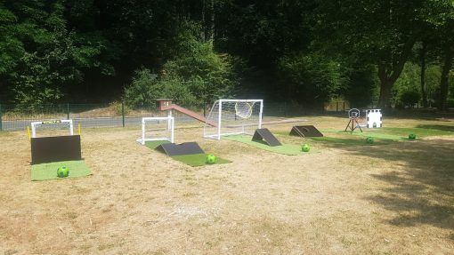Fussball Minigolf