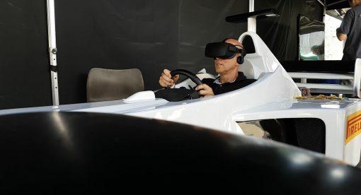 VR Formel 1 Simulator
