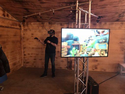 VR Schiessbude mieten